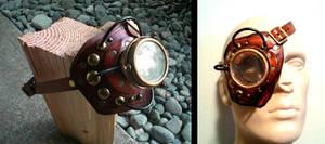 Steampunk Borg Monogoggle by Skinz-N-Hydez