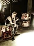 Justin Bieber's Robot Glove