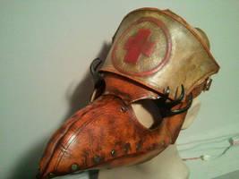 Nurse Plague Doc Mask by Skinz-N-Hydez