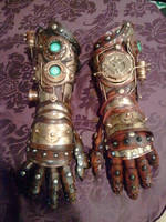 steampunk gauntlet/gloves