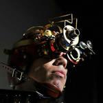steampunk goggle helmet