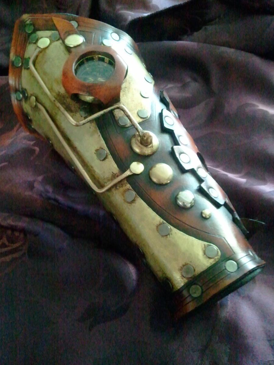 Steampunk navigator's bracer by Skinz-N-Hydez