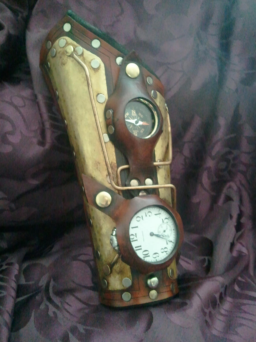 Time travelers Bracer by Skinz-N-Hydez