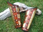Steampunk Gladiator Bracers