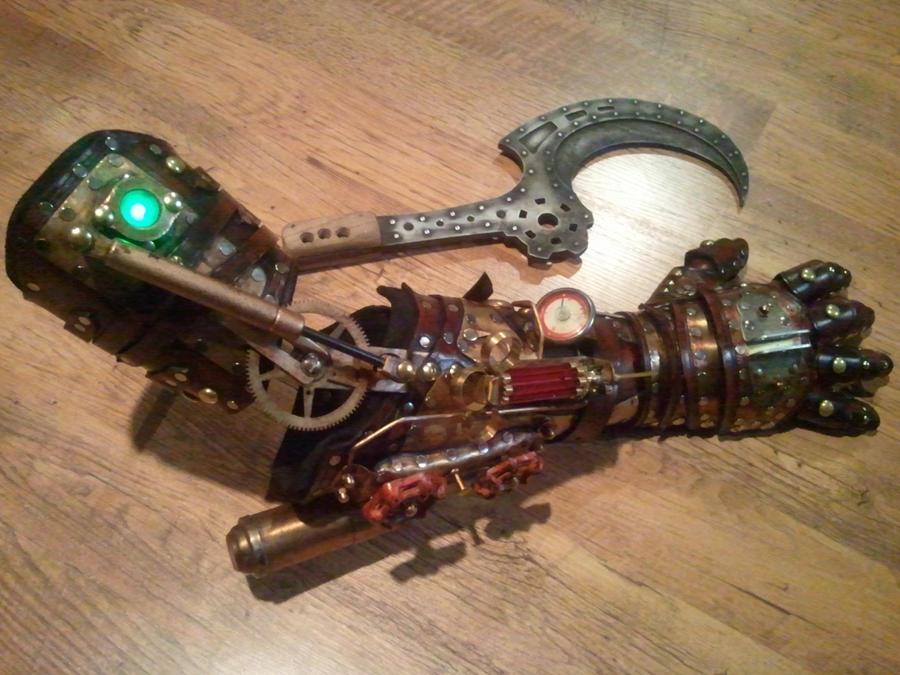 Bioshock splicer style arm by Skinz-N-Hydez