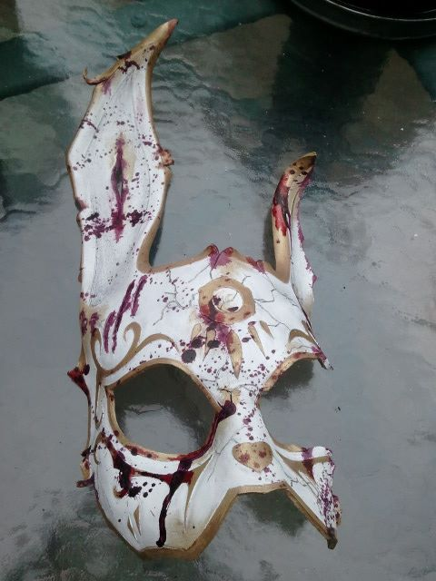 BioShock Rabbit Mask Work in Progress3 by Skinz-N-Hydez