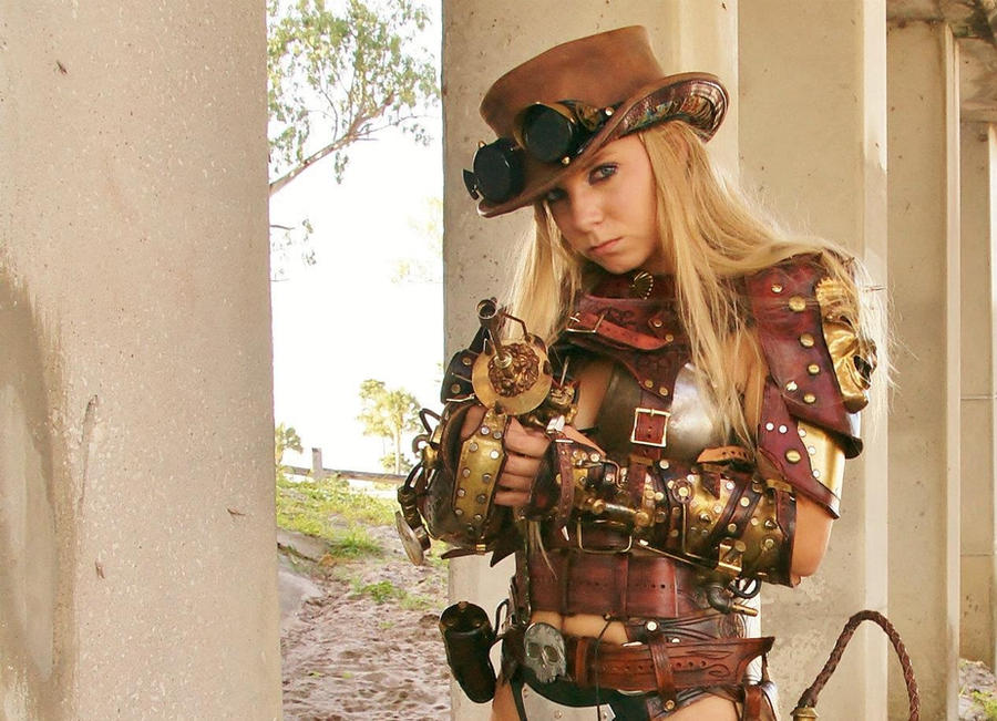 Steampunk Raider by Skinz-N-Hydez