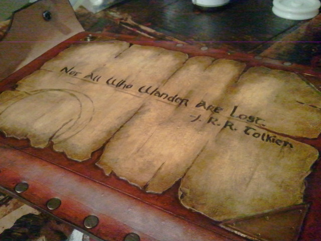 tolkien tablet case by Skinz-N-Hydez