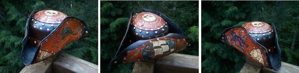 Custom Pirate hat