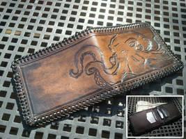 Steampunk cthulhu wallet by Skinz-N-Hydez