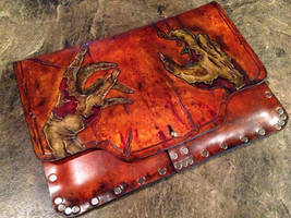 ZOMBIES! Leather Tablet Case by Skinz-N-Hydez