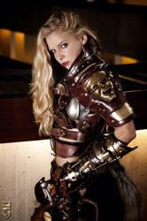 Steampunk Warrior Trina Mason by Skinz-N-Hydez