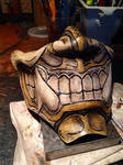 Leather Oni Inspired half mask
