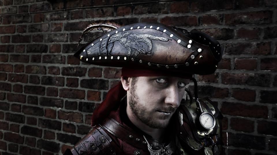 Zombie pirate tricorn hat by Skinz-N-Hydez