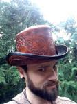 Steampunk Octo-Top hat