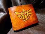 leather Zelda Wallet