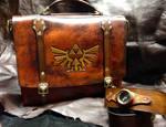 Leather Zelda Messenger bag
