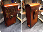 Leather Zelda pouch