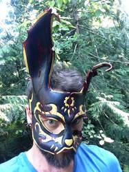 Bioshock black rabbit Splicer Mask by Skinz-N-Hydez