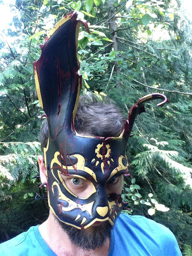 Bioshock black rabbit Splicer Mask by Skinz-N-Hydez