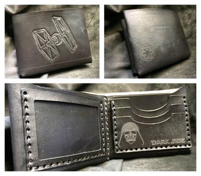 The Dark Side Vader wallet by Skinz-N-Hydez