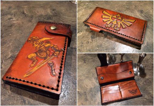 Full Length Leather Zelda Wallet by Skinz-N-Hydez