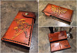 Full Length Leather Zelda Wallet