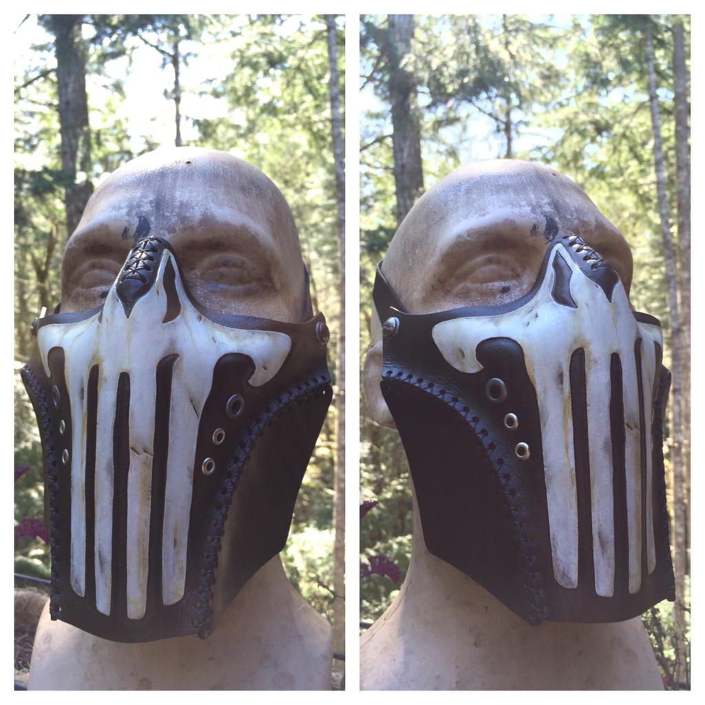 Leather Punisher mask