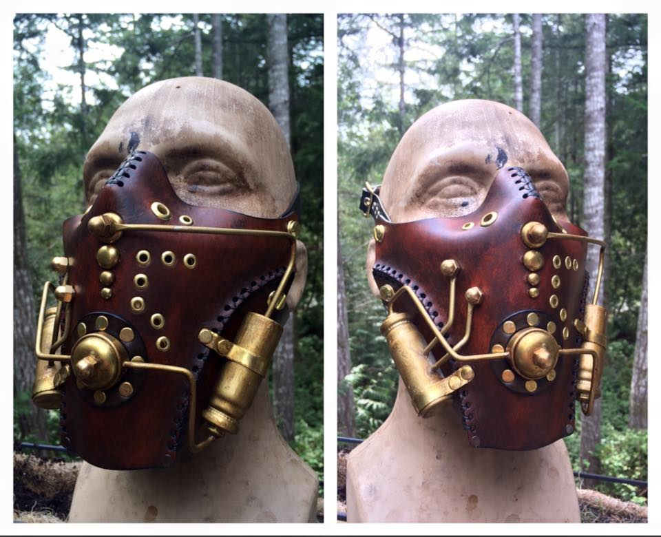 Steampunk Spaceman Mask by Skinz-N-Hydez