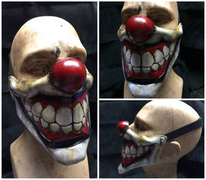 Leather sweet tooth Clown Mask