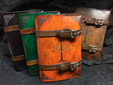 Leather Lord Of The Rings book cover