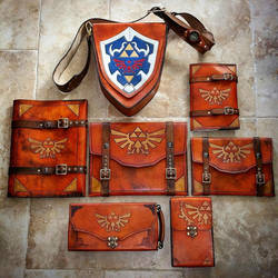 Leather Zelda Gear! by Skinz-N-Hydez