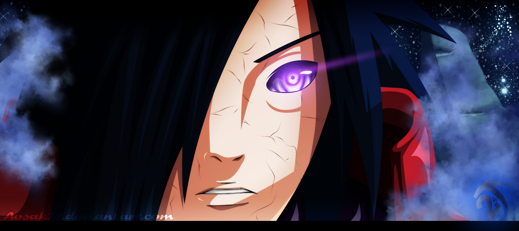 Madara Uchiha - Happy Birthday! by Aosak24
