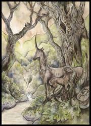 Das schwarze Einhorn by Sieskja