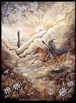Saruman, come forth ! by Sieskja