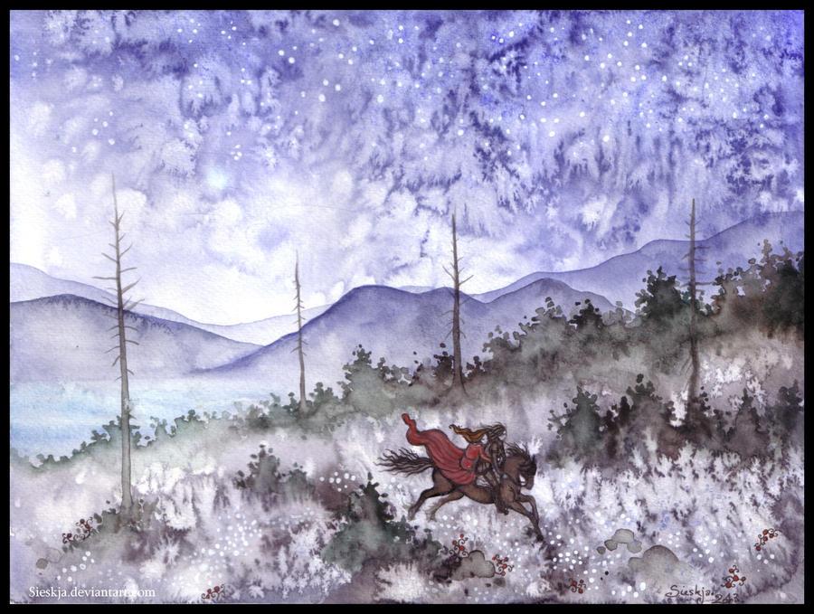 Landskap II by Sieskja