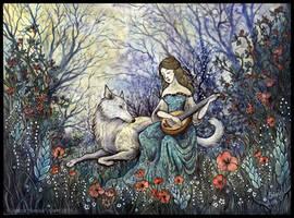 Le Loup blanc by Sieskja