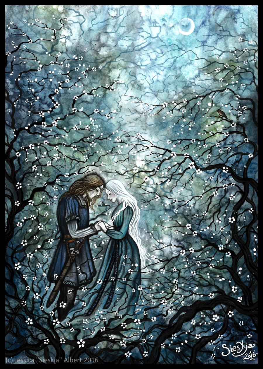'Soft stillness, and the night' by Sieskja
