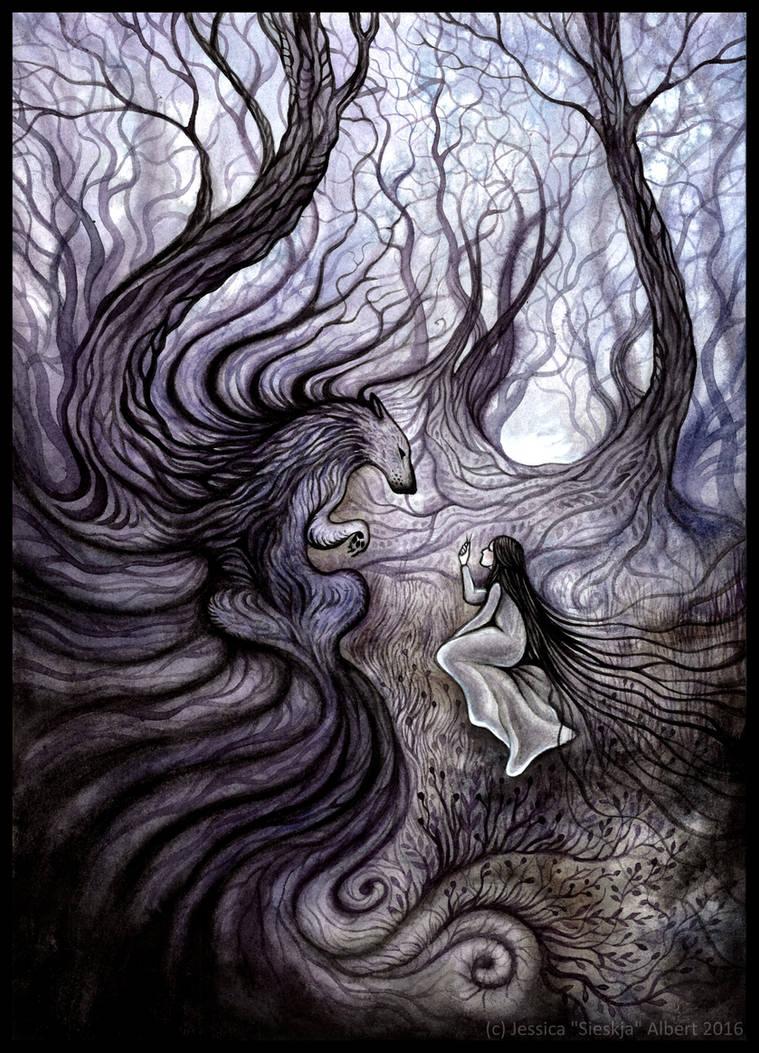 Les Cils du Loup by Sieskja