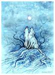 'Light Painfully Bright Moon'