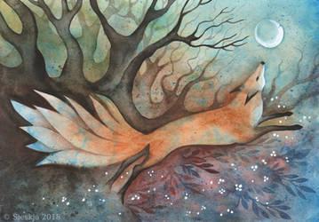 Nine-tailed Fox by Sieskja