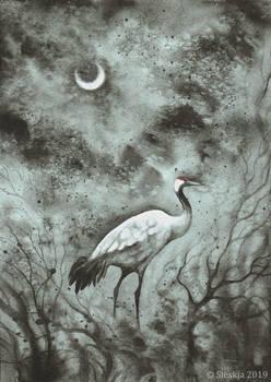 Decembird - Eurasian crane