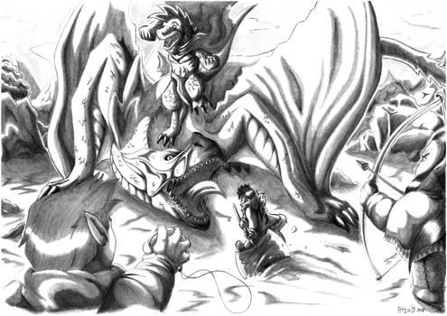DnD Adventures - totally not a dragon