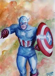 Capitan America by Stef125