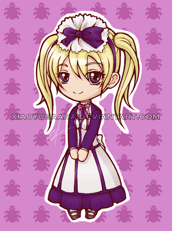 KS_Chibi Alois: maid outfit by xiaoyugaara