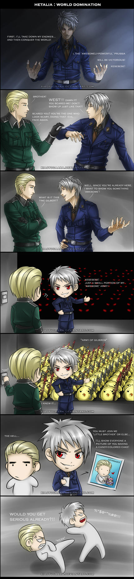 APH: World Domination by xiaoyugaara