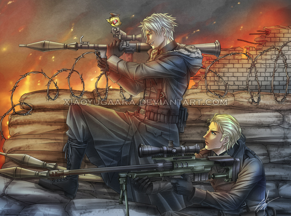 APH: Lock-and-Load by xiaoyugaara