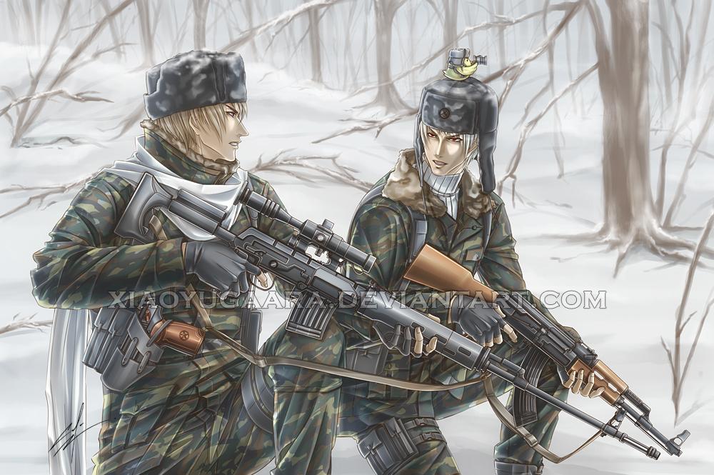 APH: Comrades by xiaoyugaara