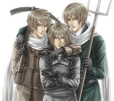 APH_Soviet Brothers by xiaoyugaara