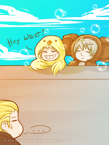APH: At the Other Side of the Wall by xiaoyugaara